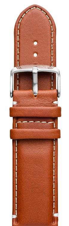 Pulseira para relógio de couro resistente a agua
