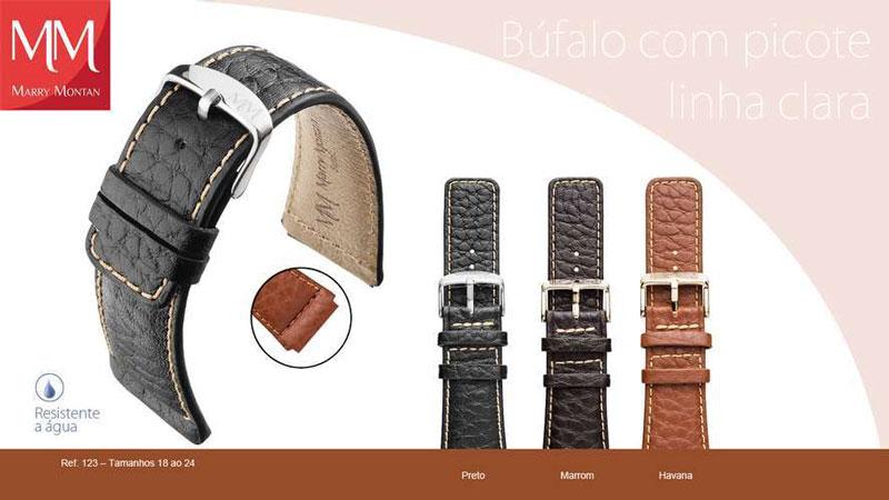 Bufalo com picote linha Clara